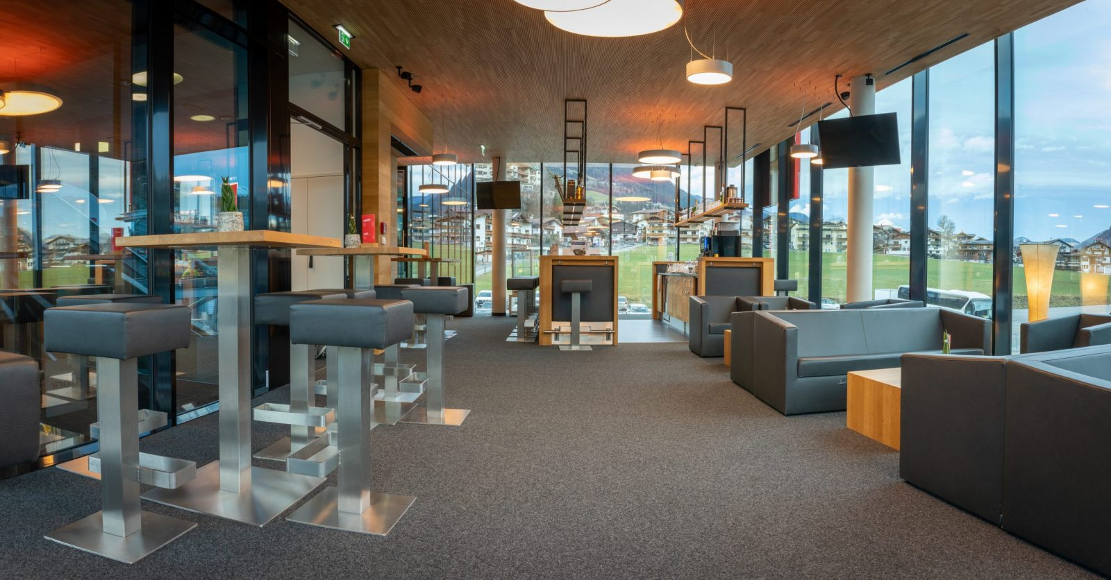 Stock lounge Kaltenbach