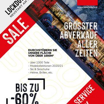 Flyer sale